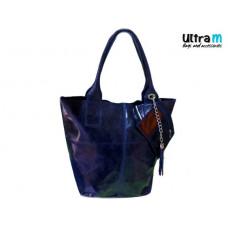 Kožna ženska torba Roberto Nazzaro 001 teget