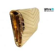 Pismo torbica Fashion LD 9414 zlatna lak