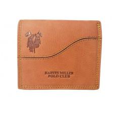 Muški novčanik Harvey Miller Polo Club 7331-146 svetlo braon
