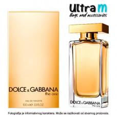 Dolce Gabbana THE ONE 100ML EDT MEN